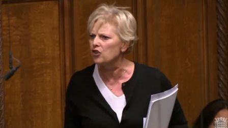 Anna Soubry in the House of Commons (Image: Westminster TV)