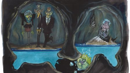 The Tories are in the Brexit cave, half-in and half-out. Picture: Martin Rowson