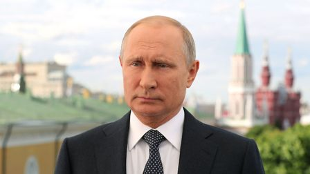 Will Russia's President Vladimir Putin take his sporting chance as the World Cup draws to an end? Pi