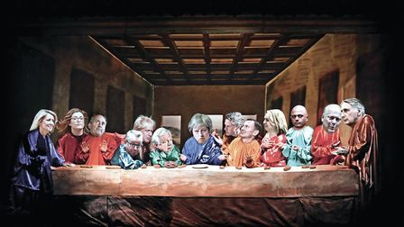 The Tories' Last Supper at Chequers. Picture: christhebarker