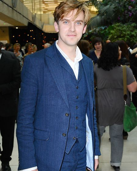 Dan Stevens, from Downton Abbey, was named as best dressed man of last year. Pic: PA