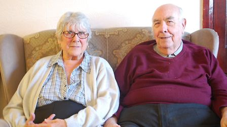 Queenie and John Bottomley received a grant from Havering Council to transform their bathroom
