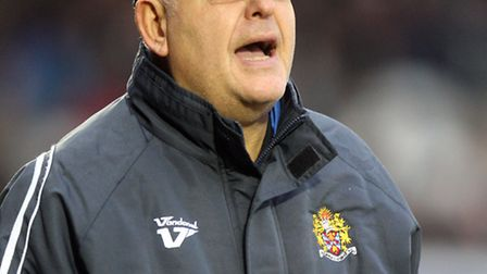 Dagenham & Redbridge boss John Still was disappointed with the pitch at Morecambe on Tuesday night.