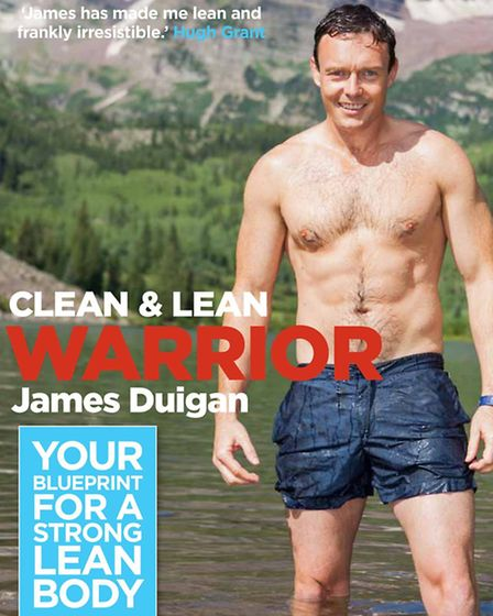 Clean And Lean Warrior by James Duigan, published by Kyle Books, priced £12.99. Available now. Pictu