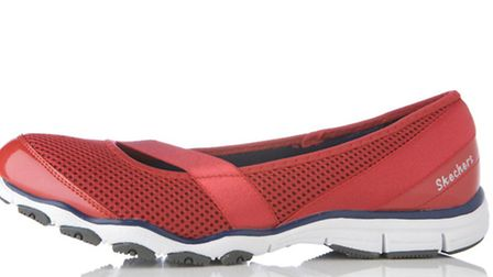 Sketchers Mambo mesh detail trainers, £42.50 at QVC (www.qvcuk.com <http://www.qvcuk.com>). Picture: