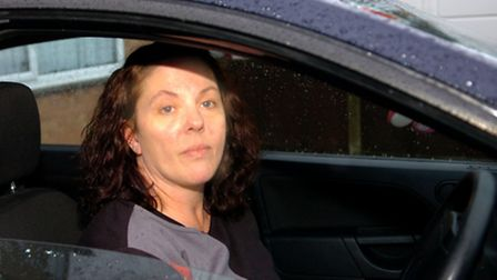 Michelle Reid said she was trapped in the car park for 20 minutes