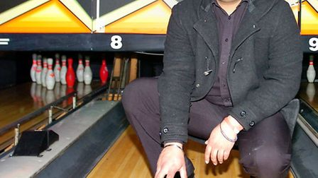 Cluster manager for the Essex area, Kul Singh on the bowling alley