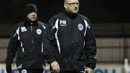 Romford manager Paul Martin has been frustrated by the weather (Gavin Ellis/TGS)