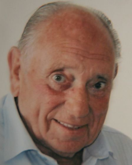 Raymond Grinyer had a heart attack after discovering his home had been burgled.