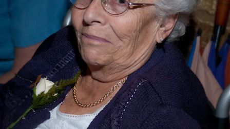 Brenda Matthews travelled more than three miles from her home in Collier Row