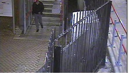 Police have issued this image of a man seen at Royal Victoria Dock DLR station on June 22 2011