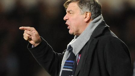Sam Allardyce issued a 'hands off' warning to other clubs