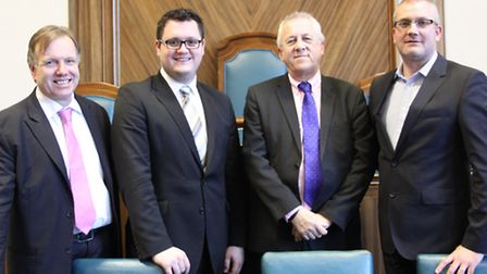 Cllrs Nigel Clarke, William Lloyd, Phil Baker and Russell Quirk announced the formation of new group