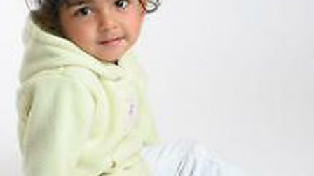 Rhiya Malin, two, died after her head became lodged in a wooden playhouse