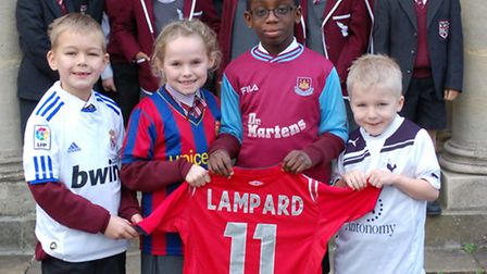 Pupils from Brentwood Preparatory School are donating football shirts to children in Peru