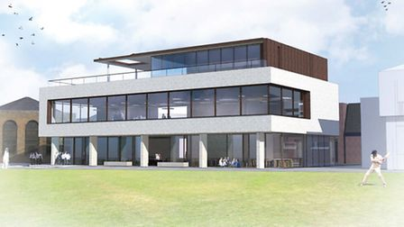The new building is expected to be completed for September 2013