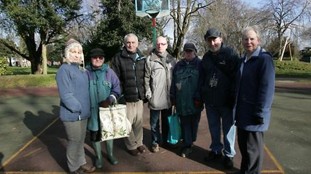 The South Park Users group are campaigning for a new sports facility in South Park