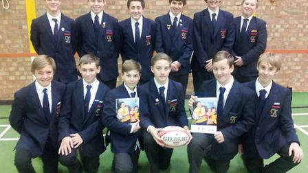 Pupils from The Albany School have passed a tag rugby coaching course
