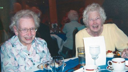 Betty and sister Irene Hussey
