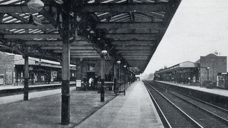Romford station in the 19th century (picture courtesy of Brian Evans)