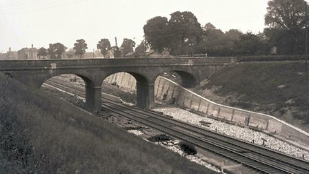 June 4, 1910: The new embankments for Squirrels Heath and Gidea Park Station are complete. The stati