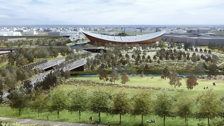The Velo Park as it will look when the Olympic Park reopens