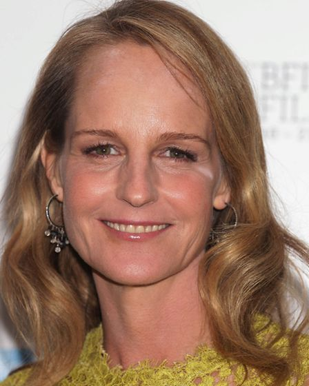 Helen Hunt arriving for the BFI London Film Festival gala screening of The Sessions, at the Odeon We