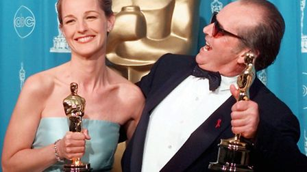Helen Hunt and Jack Nicholson won best actor Oscars for their roles in As Good As It Gets. Picture: