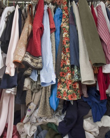 The average woman's wardrobe houses more than 600 dresses and 400 pairs of shoes over the course of