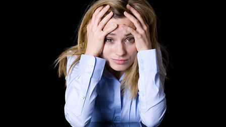 Stress can cause sweating and loss of appetite. Picture: PA Photo/thinkstockphotos.