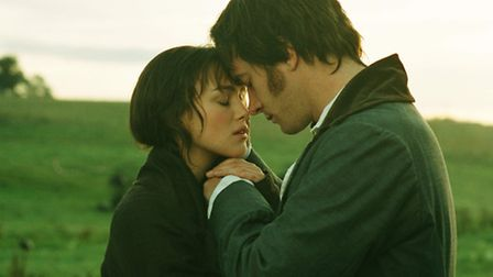 Keira Knightley and Matthew Macfadyen in the 2005 film adaptation of Pride and Prejudice.