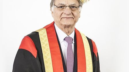 Lord Noon who has been appointed chancellor at the University of East London