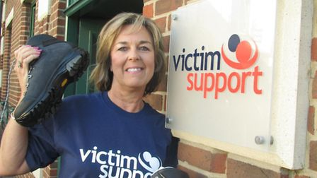 Jan Scott, who works for Victim Support in Woodford Green, is set to climb Mount Kilimanjaro