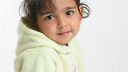 Rhiya Malin, two, died after her head became lodged in a Wendy house