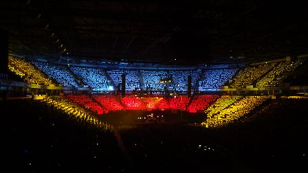 Farnham Green Primary School was part of the 7,000-strong choir performing at the O2.