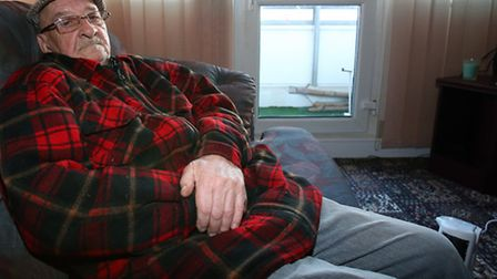 Bill Webb, 70, is a council tenant who has gone without heating and hot water for two weeks since hi