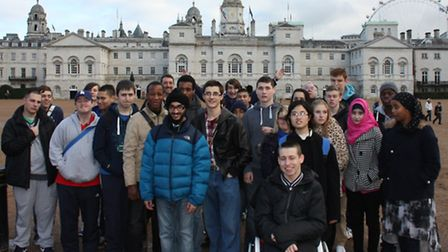 IT students from Havering College of Further and Higher Education enjoyed a tour of the Houses of Pa
