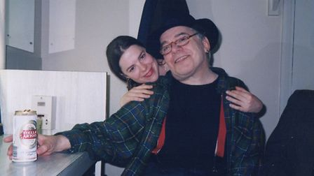 Ian and Jemima Dury in April 1999. Picture: Kees Bakker