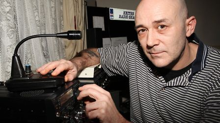 Disabled Keith Crosby is angry at the council decision to put the aerial for his amateur radio down