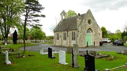 Upminster Cemetery is probably going to be extended to meet the demand for burial space in Havering