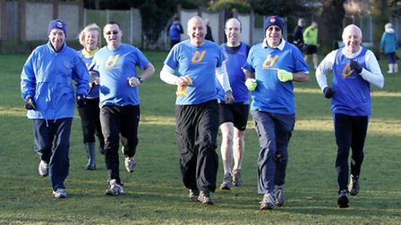 Havering 90 joggers, running group