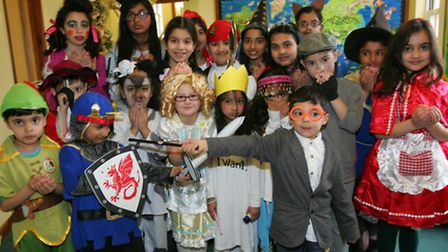 Highlands school pupils dressed in costume for World book day