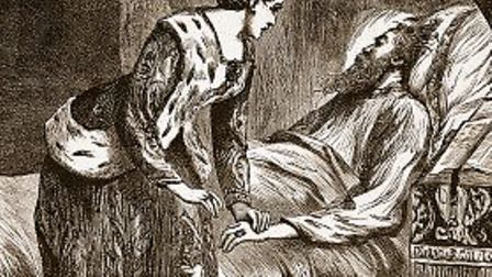 Alice Perrers at the king's deathbed
