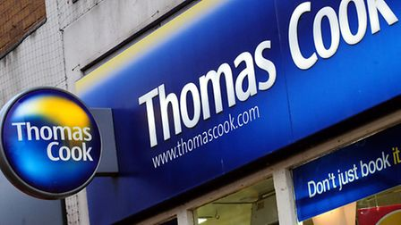 Thomas Cook will close its Collier Row shop. Picture: Rui Viera/PA