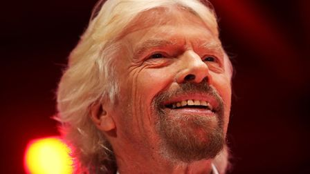 Virgin Group founder Richard Branson. Photograph: Brian Lawless/PA Wire.