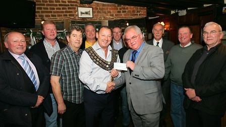Chris Smythe, landlord of The Ship Inn and chairman of the Romford, Brentwood, Billericay and Distri