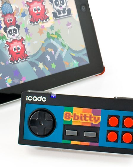 8-Bitty Wireless Controller, £29.99, from www.firebox.com.Picture: PA Photo/Handout.