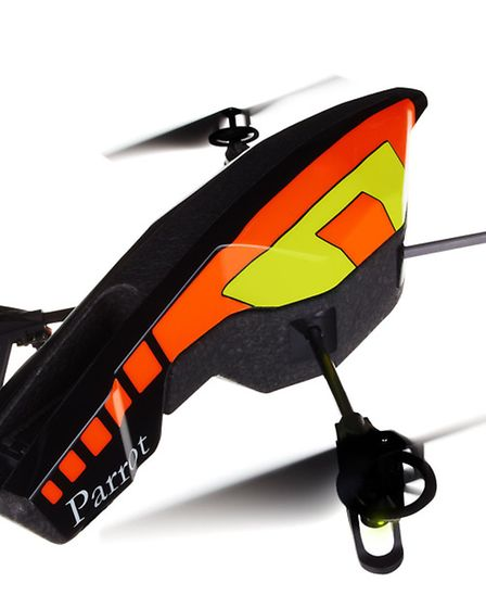 Parrot AR Drone 2.0, £279, from www.expansys.com. Picture: PA Photo/Frederic Simon.