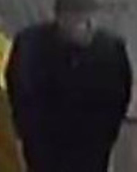 Police want to speak to this man in connection with a theft