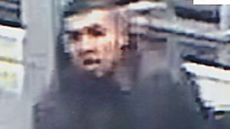 Police want to identify the person shown in this CCTV image.